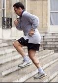sarkozy jogging