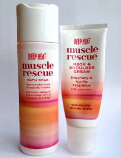 Deep Heat Muscle Rescue